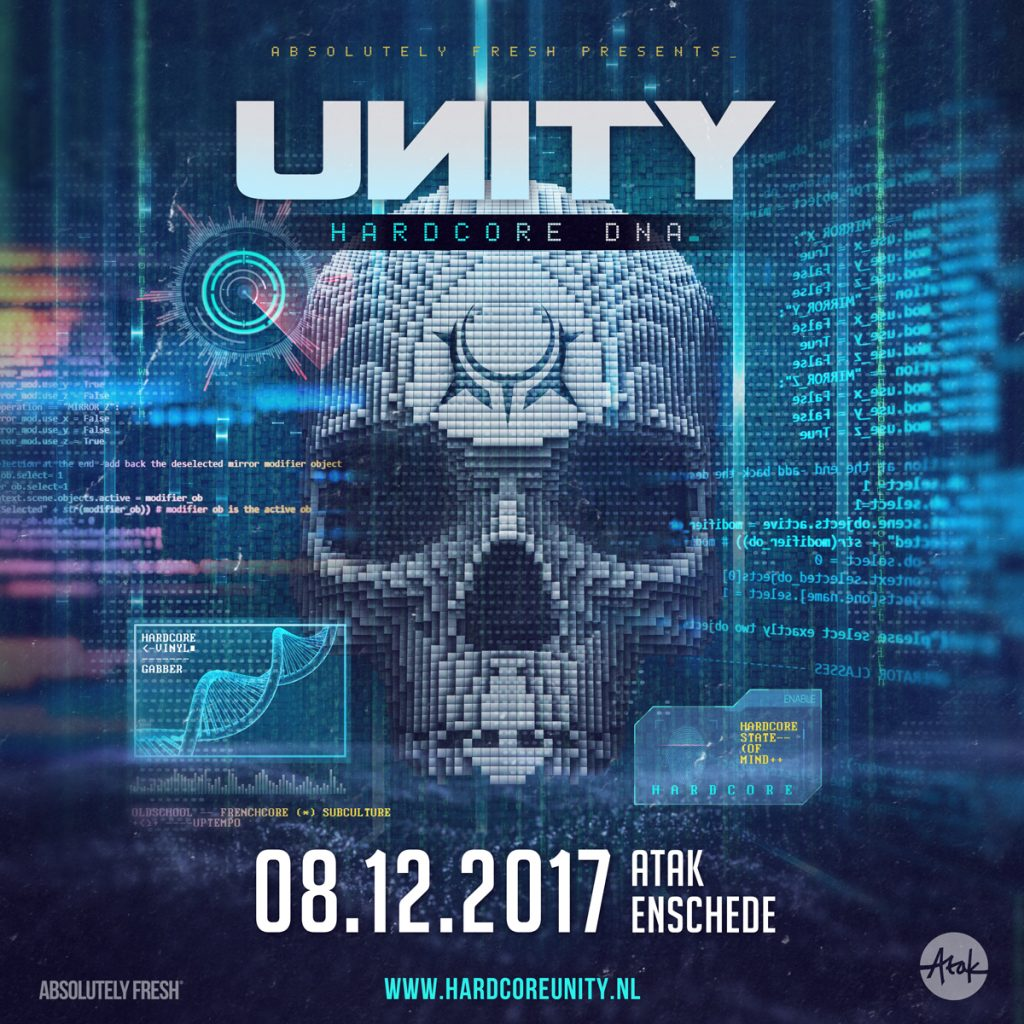 UNITY · Hardcore DNA – Save the date!