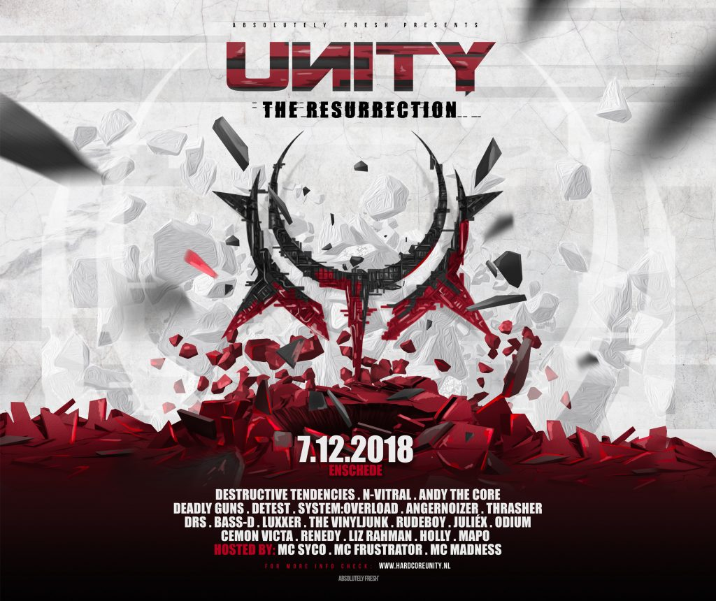 Line up > UNITY · The Resurrection