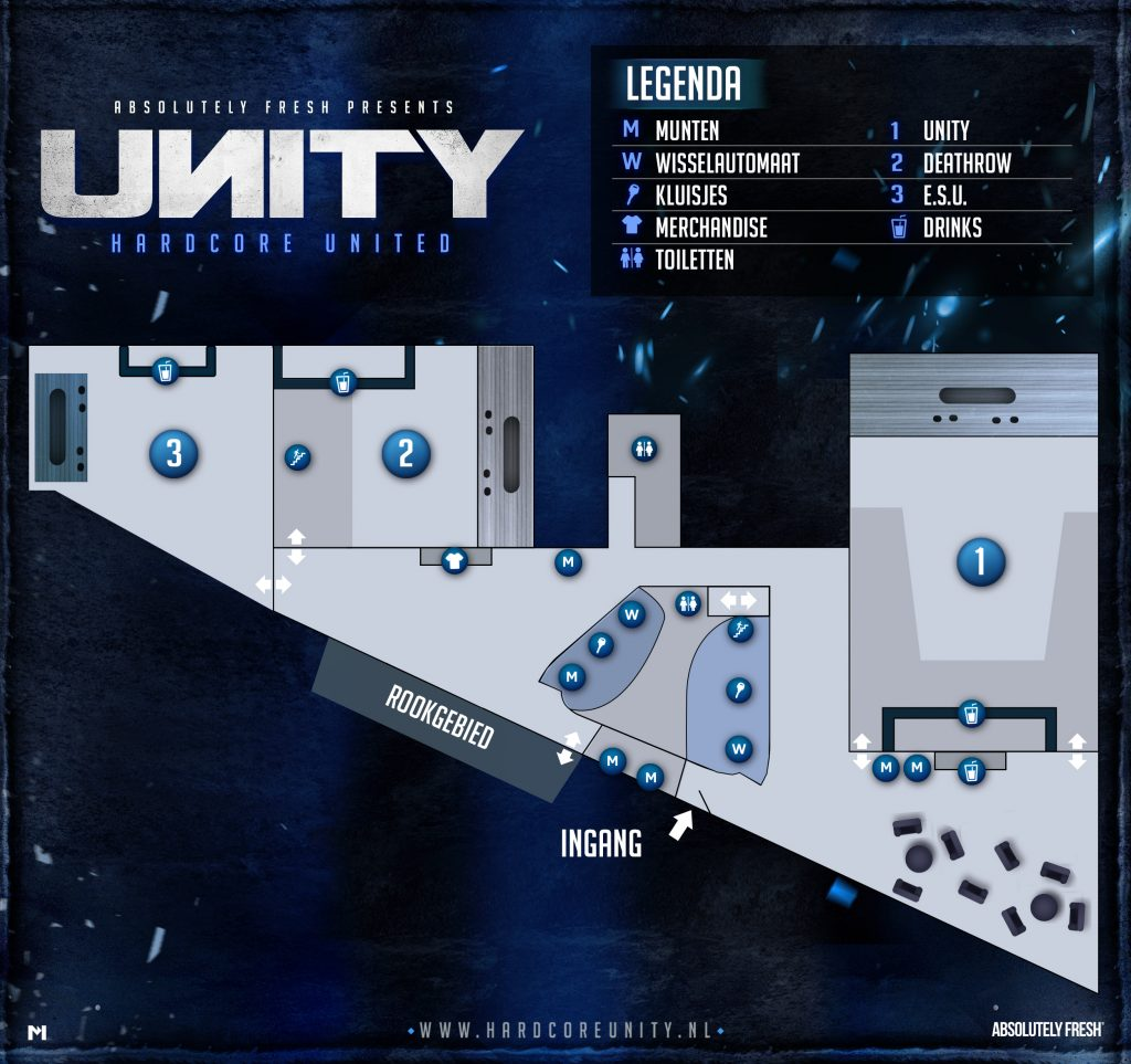 Floorplan UNITY · Hardcore United